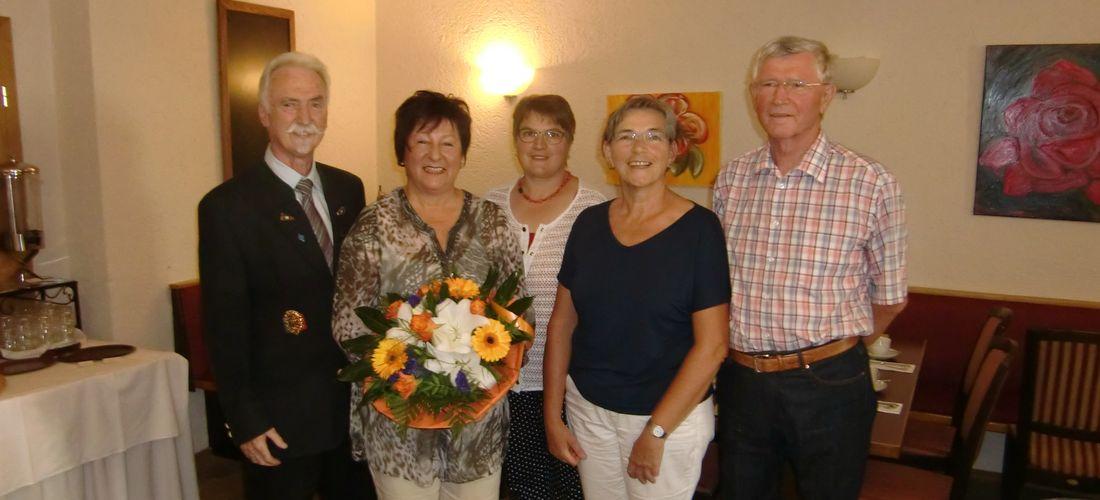 Elisabeth Schreyer in den Ruhestand verabschiedet