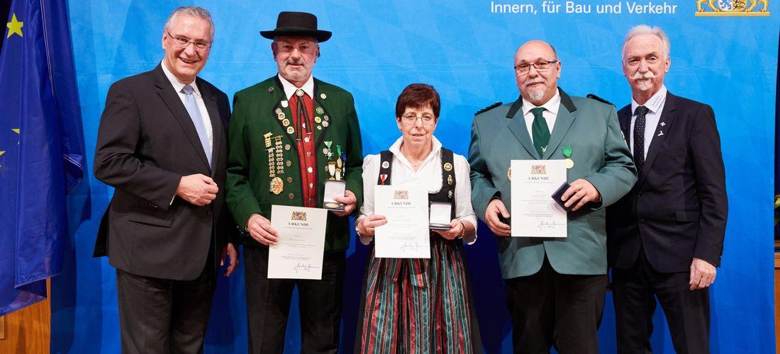 Anerkennung für herausragendes Engagement im Ehrenamt