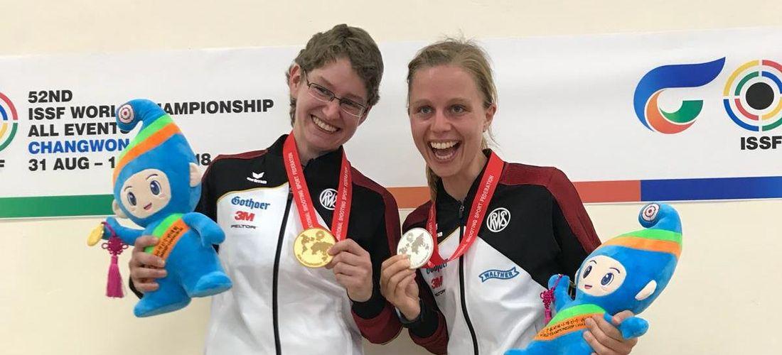 Drei Goldmedaillen für Kerstin Schmidt in Korea