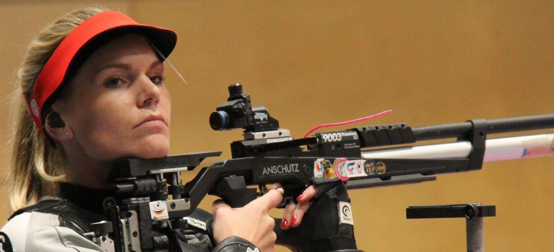 Julia Moser in der Europameisterschaft in Osijek