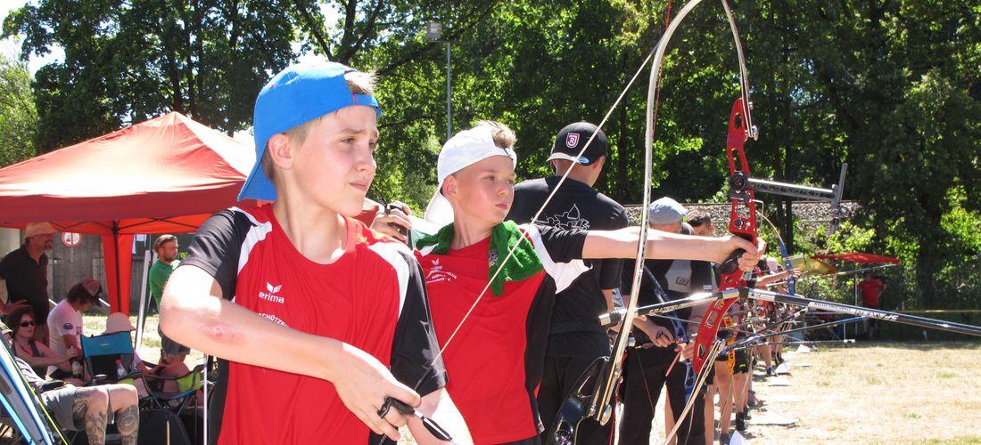 Landesmeisterschaft Bogen im Freien