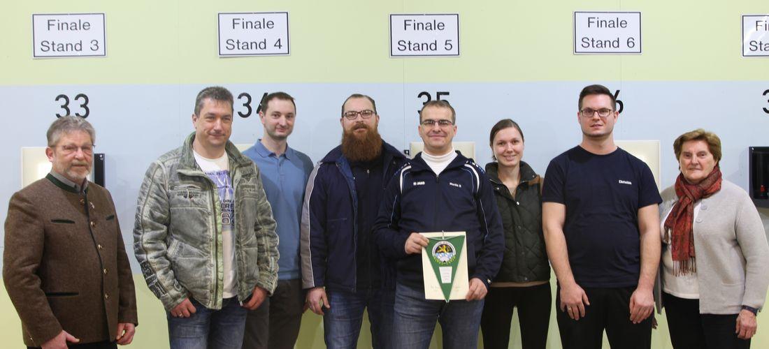 SG Neukirchen ist der Sieger in der Landesliga Luftpistole