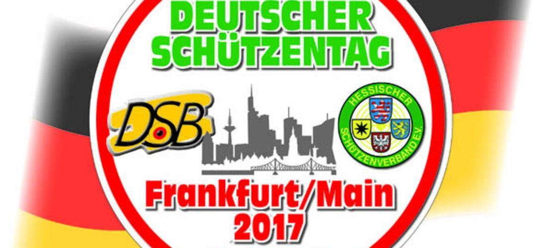 60. Deutscher Schützentag in Frankfurt