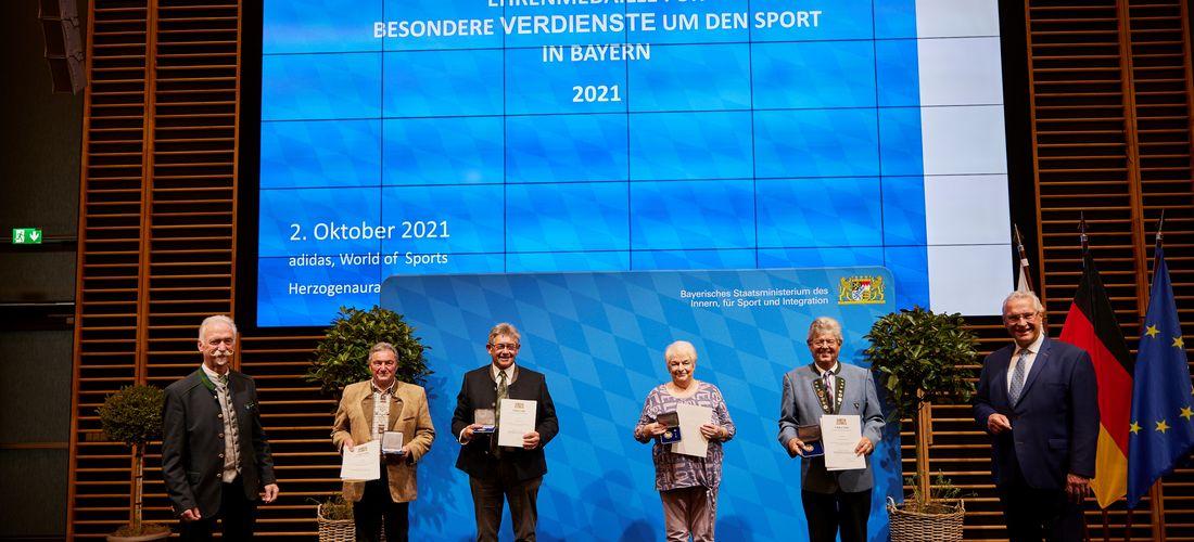 Ehrenmedaille für besondere Verdienste um den Sport